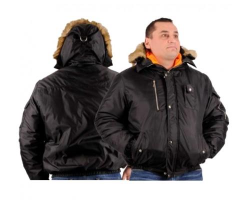 Куртка зимняя АЛЯСКА (тк.Оксфорд) черный