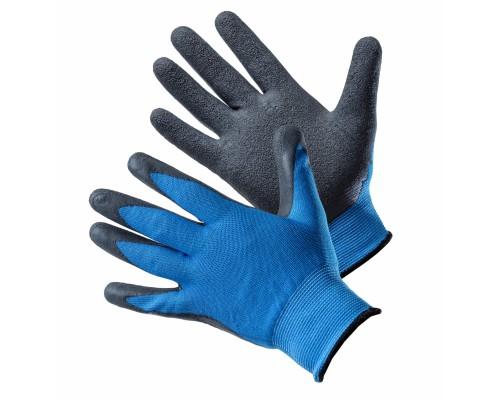 Перчатки АМПАРО™ Бриз (полиэфир+вспененный латекс), голубой