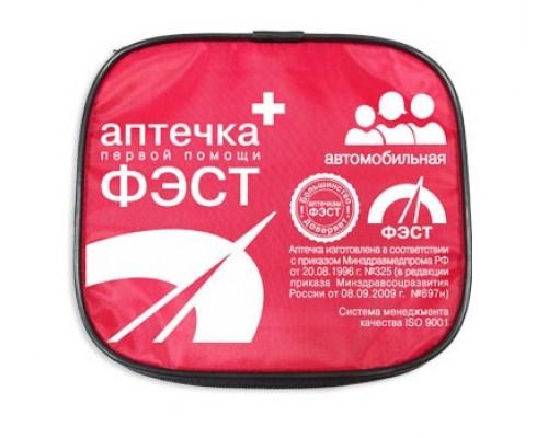 Аптечка ФЭСТ автомобильная мягкий футляр (арт.1091)