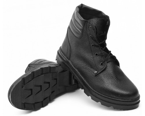 Ботинки Бортопрошивные юфть/кирза