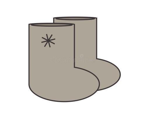 Таблица обозначения размеров на валяной обуви, диэлектрических бот, рыбацких сапог.