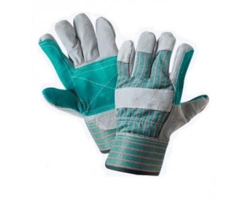 Перчатки спилковые комбинированные с усилением (тип ДОКЕР)