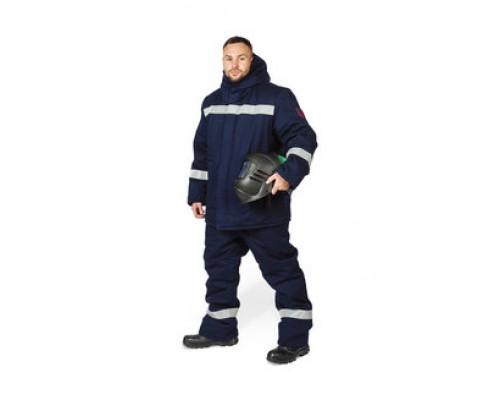 Костюм зимний для защиты от повышенных температур, теплового излучения и кратковременного воздействия пламени
