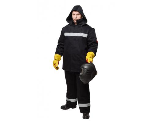 Костюм зимний для защиты от искр и брызг расплавленного металла (КЛАСС 2)