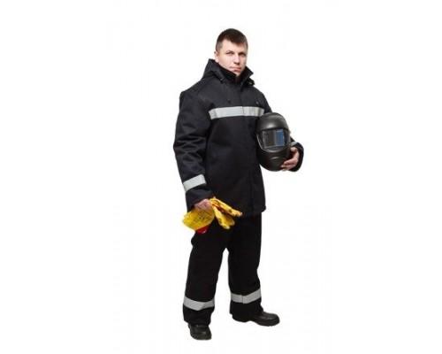 Костюм зимний для защиты от искр и брызг расплавленного металла (КЛАСС 1)
