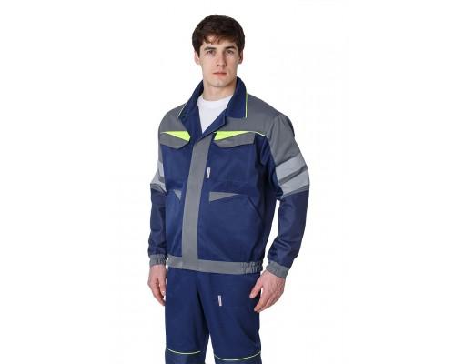 Куртка укороченная мужская PROFLINE BASE, т.синий/серый