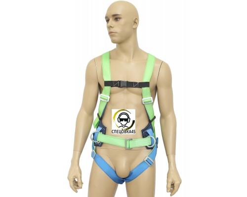 Страховочно-удерживающая привязь УСП-2Ж Шк c наплечными и набедренными лямками