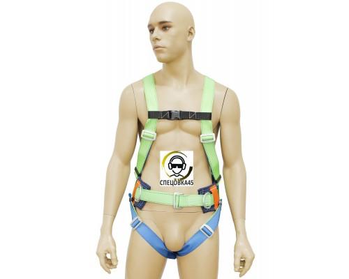 Страховочно-удерживающая привязь УСП-2Ж Ук c наплечными и набедренными лямками