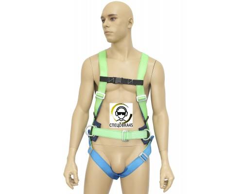 Страховочно-удерживающая привязь УСП-2Ж Ус c наплечными и набедренными лямками