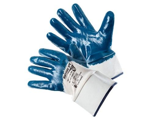 Перчатки АМПАРО™ Нитрос КЧ (джерси+нитрил), 448575