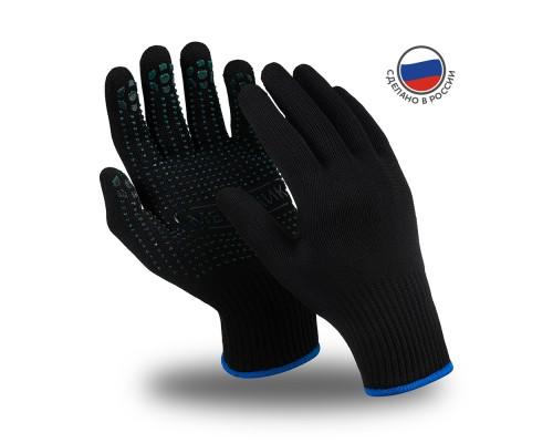 Перчатки Manipula Specialist® Механик Блэк (нейлон/хлопок+ПВХ), TNG-30/MG-114
