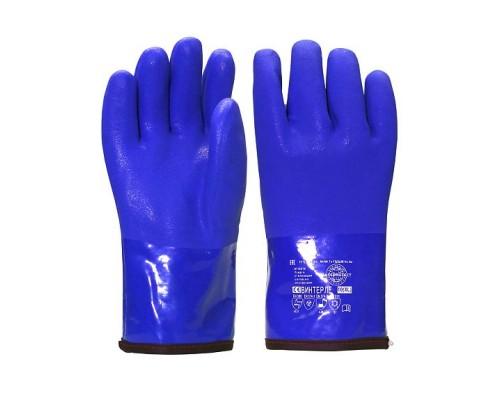 Перчатки SAFEPROTECT ВИНТЕРЛЕ (ПВХ+акриловый мех)