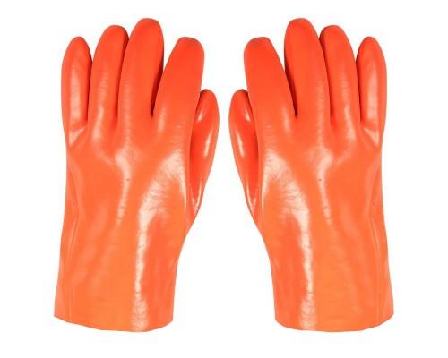 Перчатки МБС ПВХ утепленные с хлопчатобумажной вставкой