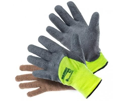 Перчатки АМПАРО™ Полюс двойные пш (50% шерсть+всп. латекс) с вкладышем Альпака (65% шерсть), П3956
