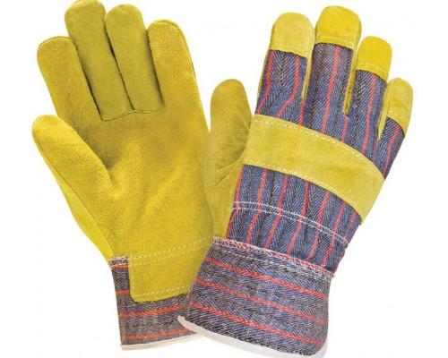 Перчатки спилковые комбинированные (тип АНГАРА)