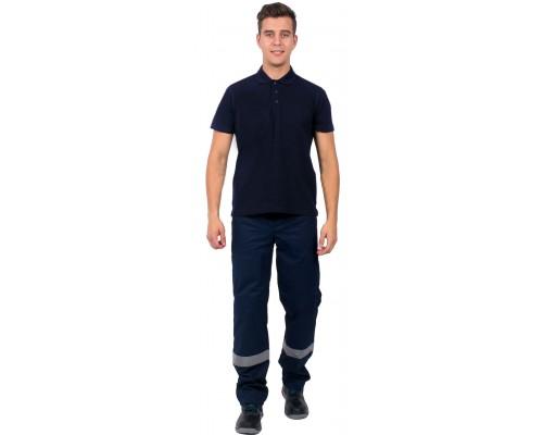Рубашка-Поло (тк.Трикотаж,205), т.синий