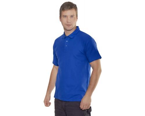 Рубашка-Поло (тк.Трикотаж,205), васильковый