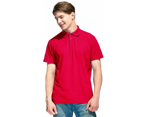 Рубашка-Поло (тк.Трикотаж,205), красный