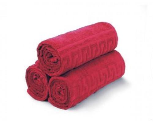 Полотенце Турк махровое 380 гр. (40х70), красный