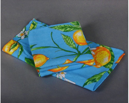 Полотенце вафельное ГОСТ 180 гр. (40х80) (5 шт), цветной