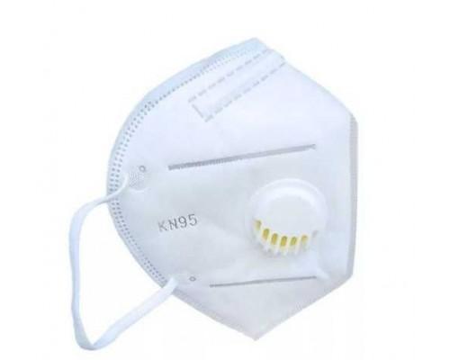 Полумаска фильтрующая KN95 (класс FFP2 R D) с клапаном