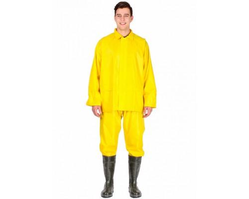 Костюм влагозащитный Садко (Нейлон/ПВХ,170), желтый