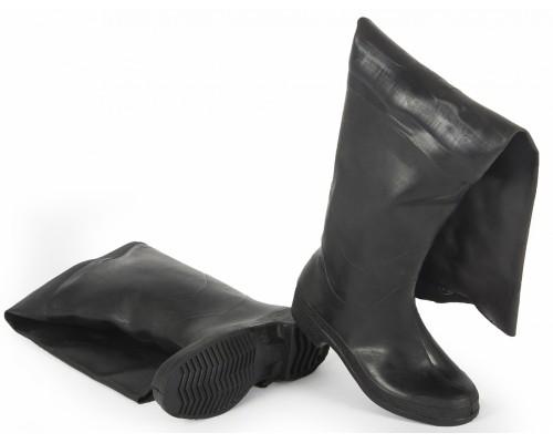 Сапоги мужские Рыбацкие резиновые, черный