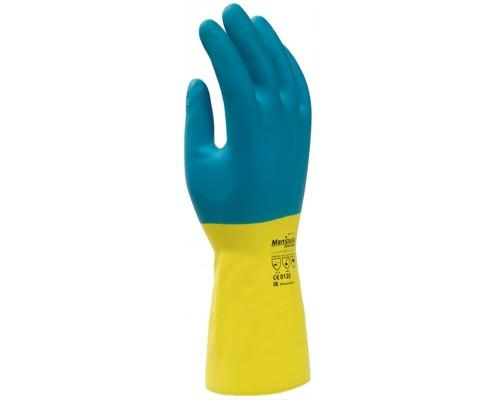 Перчатки Манипула™ Союз (латекс/неопрен 0,70мм), LN-F-05/CG-971