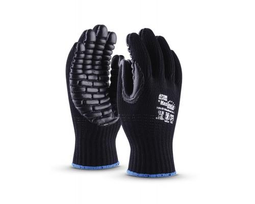 Перчатки Манипула™ Вибрест (хлопок/полиэфир+неопрен), 1121-7Е/VG-573
